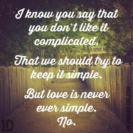 One Direction Four Lyrics - Clouds 3