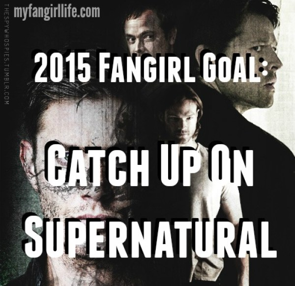2015 Fangirl Goal Catch Up on Supernatural