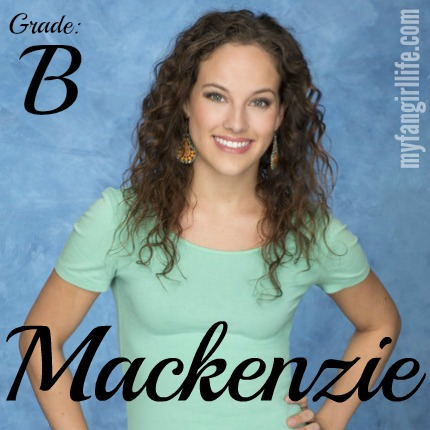 Bachelor Chris Contestant Mackenzie