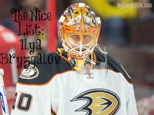 Ilya Bryzgalov the nice list 2014