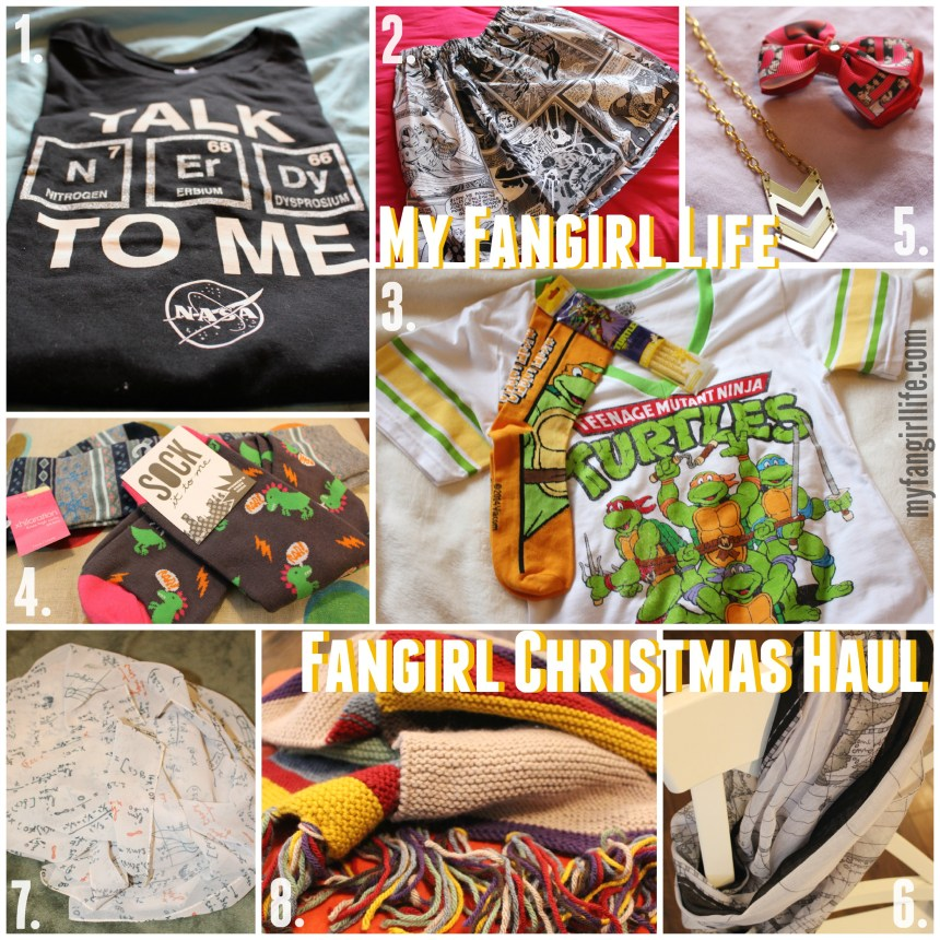 Fangirl Christmas Haul Clothes