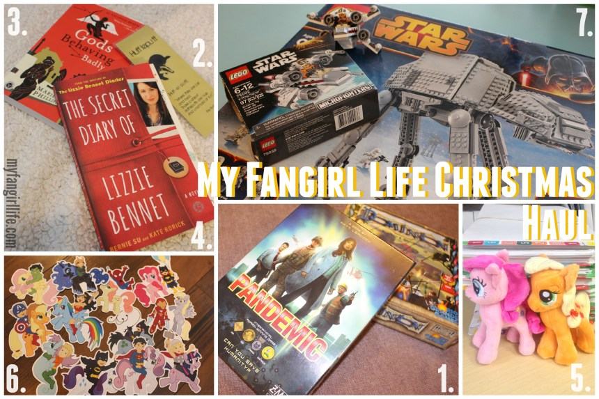 Fangirl Christmas Haul Fun