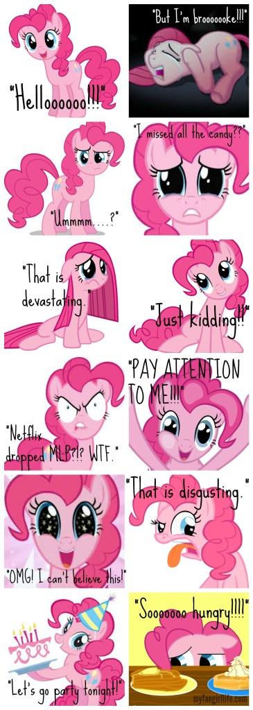 Pinkie Pie Emojis