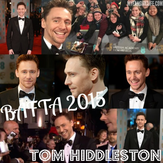 BAFTA 2015 - Tom Hiddleston