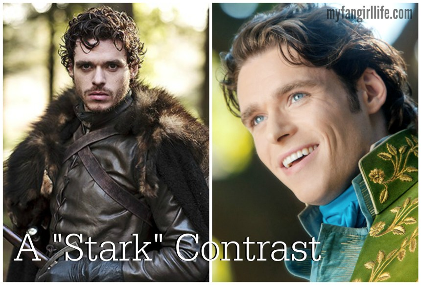 A Stark Contrast - Prince Charming and Robb Stark - Richard Madden