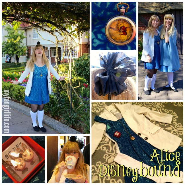 Alice In Wonderland Disneybound Outfit