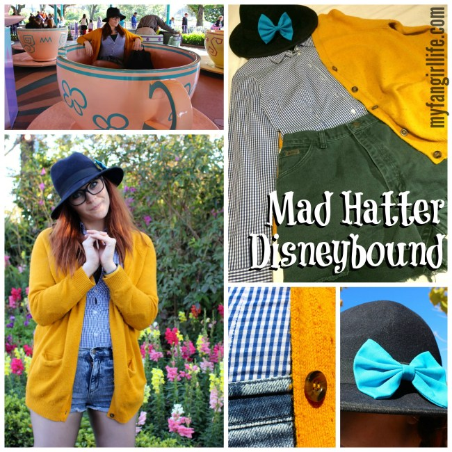 Alice in Wonderland Mad Hatter Disneybound
