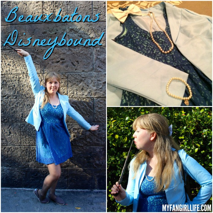 Beauxbatons Disneybound