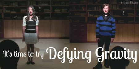 Glee Defying Gravity
