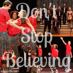 Glee Don't Stop Believing
