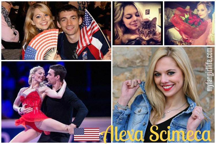 Hottest Figure Skaters Alexa Scimeca