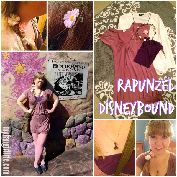 Rapunzel Disneybound Outfit