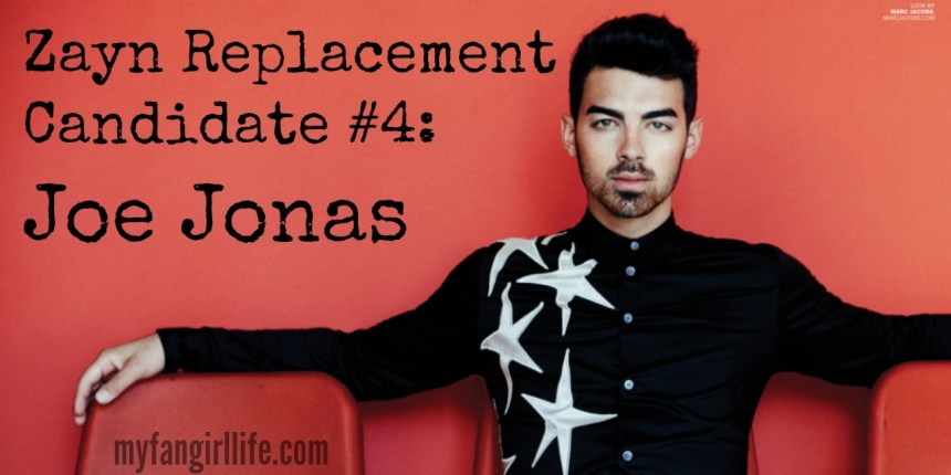 1D Zayn Replacement Candidate 4 - Joe Jonas