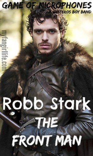 Game of Thrones Boy Band Robb Stark