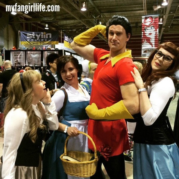 Princesses with Gaston My Fangirl Life