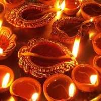 Diwali - ohhhh well ...it's kind of like our Christmas.