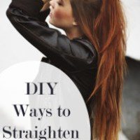 4 Natural Ways to Straighten Your Hair With Things in Your Kitchen