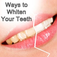 5 Natural Ways to Whiten Your Teeth
