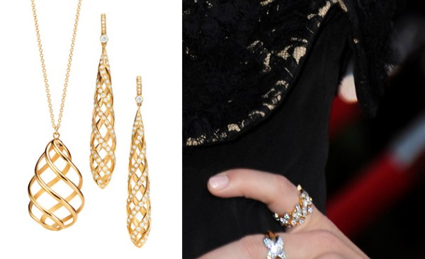 Celebrities SAG Awards Tiffany5 {Celebs} at the SAG Awards Sparkle in Tiffany Jewelry