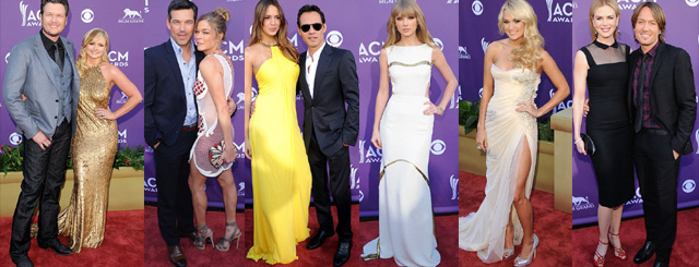 ACM 2012 Awards {Celebs} What They Wore to 2012 Academy of Country Music Awards