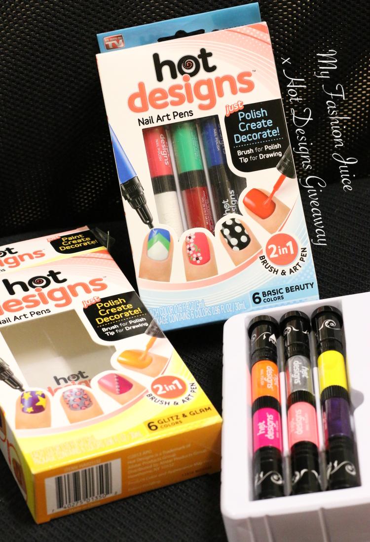 Hot Designs Nail Art Pens Giveaway Hot Designs Nail Art Pens