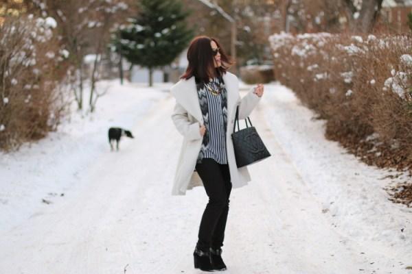 Winter White Coat1 Winter White Coat from Jessica Simpson