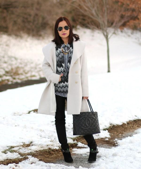 Winter White Coat12 Winter White Coat from Jessica Simpson