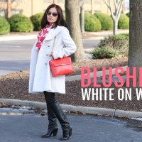 blushing white on white, outfit, fashion, style, #OOTD