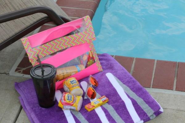 Juicy Fruit Fun Side DIY Summer Clutch shop8 DIY Summer Clutch and Pool Essentials with Juicy Fruit