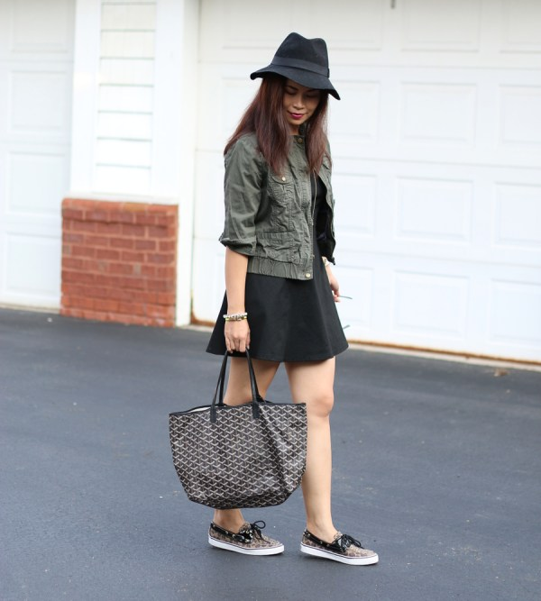 DSWShoeHookup Leopard Sperry outfit my fashion juice10 Sneaker Chic with DSW Shoe Hookup