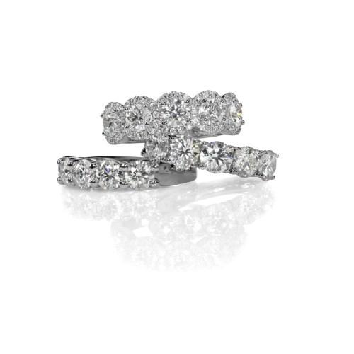 Medium Crop Of Fake Diamond Rings