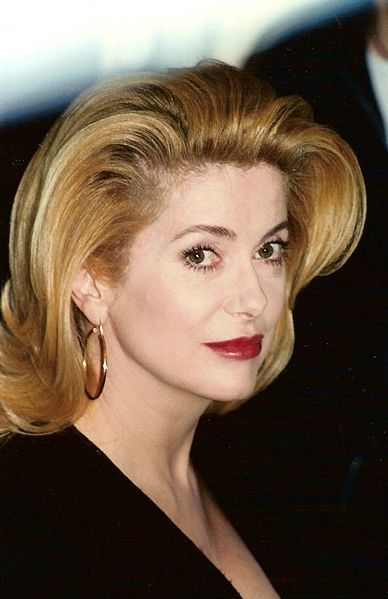 Catherine Deneuve turned 70 last week, Image Georges Biard, Wikimedia http://bit.ly/7w8Qxp