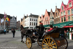Bruges-Markt-Horse-Carriage