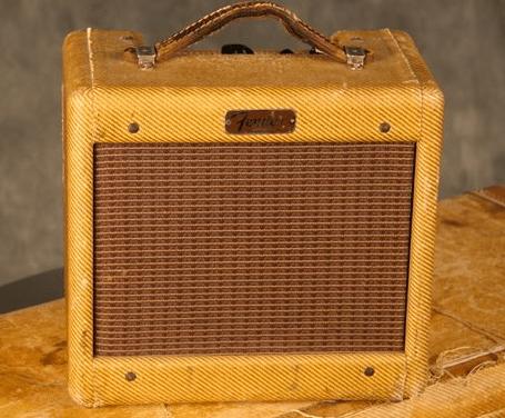 Tweed Fender Champ - C 01232 Front