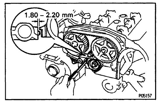 3sgte timing belt tensioner