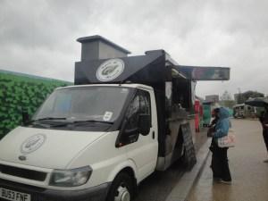Spit and Roast Van at Kerb Kings cross