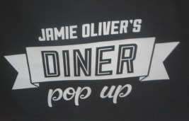 Jamie Oliver Pop Up sign