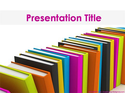 Free Books PowerPoint Template - Download Free PowerPoint PPT - powerpoint books