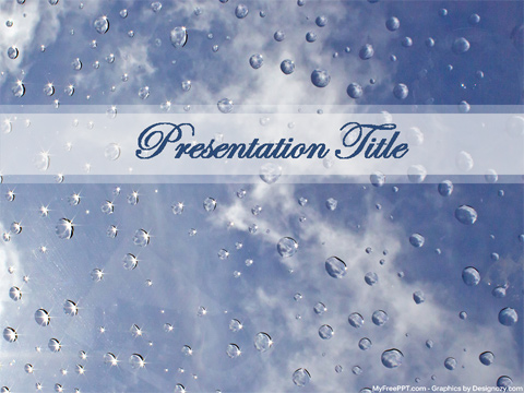 Free Water Reflection PowerPoint Template - Download Free PowerPoint PPT - water powerpoint template