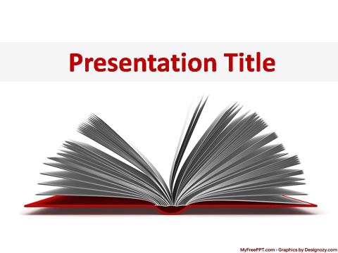 Free Knowledgeful Books PowerPoint Template - Download Free
