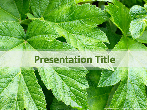 Free Recycling PowerPoint Templates - MyFreePPT - recycling powerpoint templates