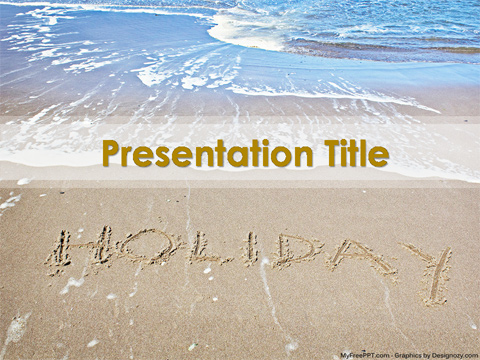 Free Holiday PowerPoint Template - Download Free PowerPoint PPT