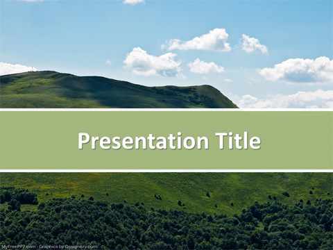 Free Nature Bokeh PowerPoint Template - Download Free PowerPoint PPT
