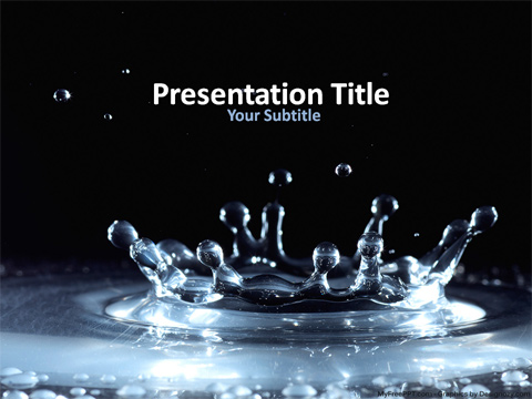 Macro Photography PowerPoint Template - Download Free PowerPoint PPT