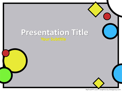 Free Scrapbook PowerPoint Template - Download Free PowerPoint PPT