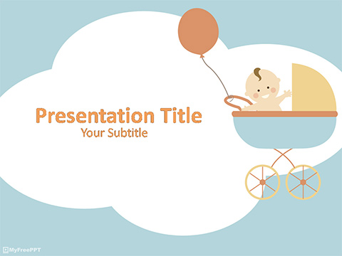 Free Baby PowerPoint Template - Download Free PowerPoint PPT