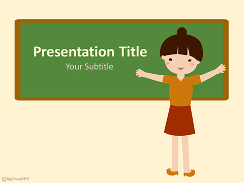 Free Cheerful PowerPoint Templates - MyFreePPT