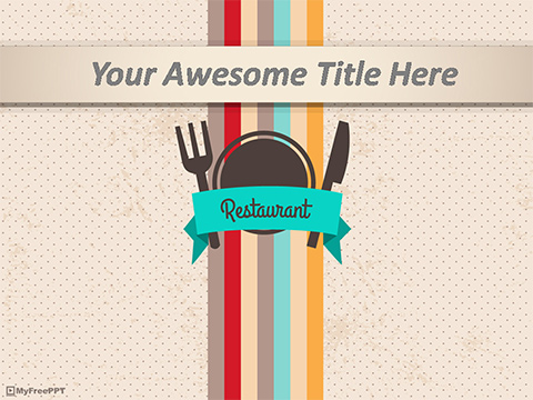 Free Restaurant PowerPoint Template - Download Free PowerPoint PPT