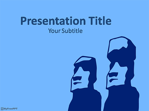 Free Easter Island PowerPoint Template - Download Free PowerPoint PPT
