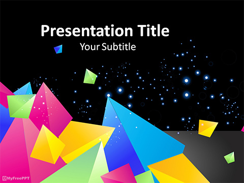 Free Abstract 3D PowerPoint Template - Download Free PowerPoint PPT
